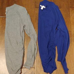 2 maternity sweaters